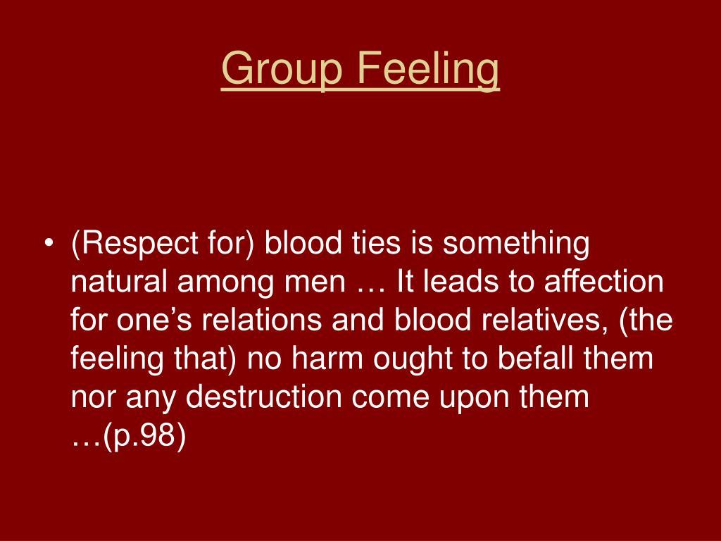 Group Feeling