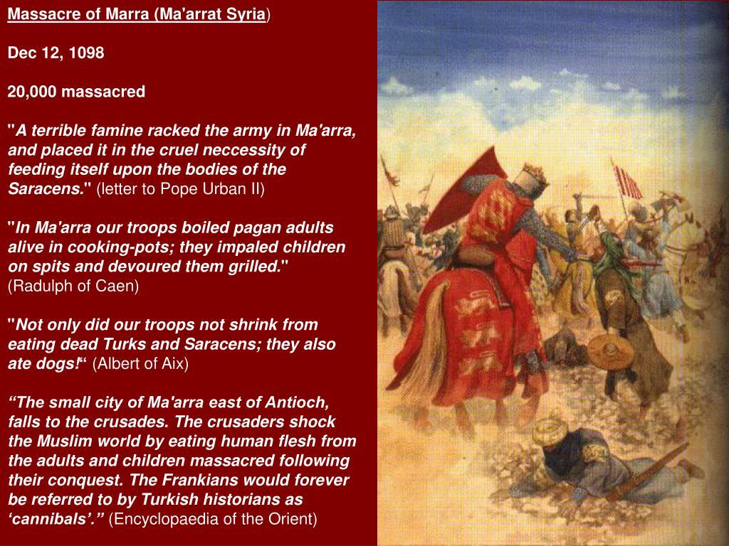 Massacre of Marra (Ma'arrat Syria
