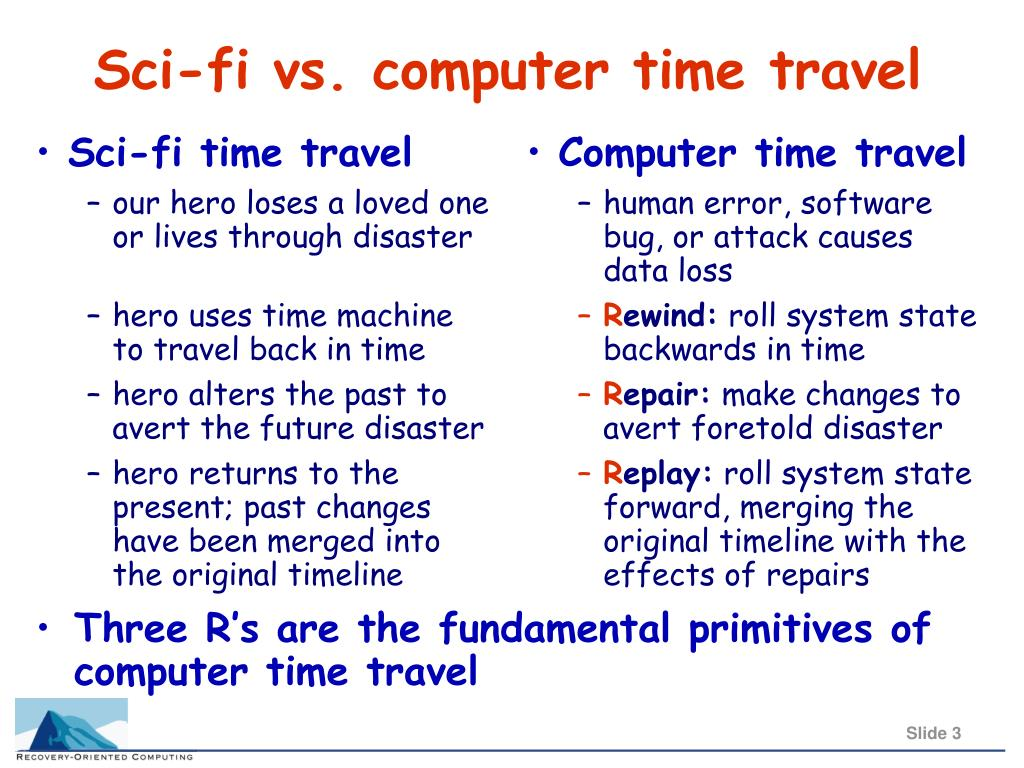 Sci-fi time travel