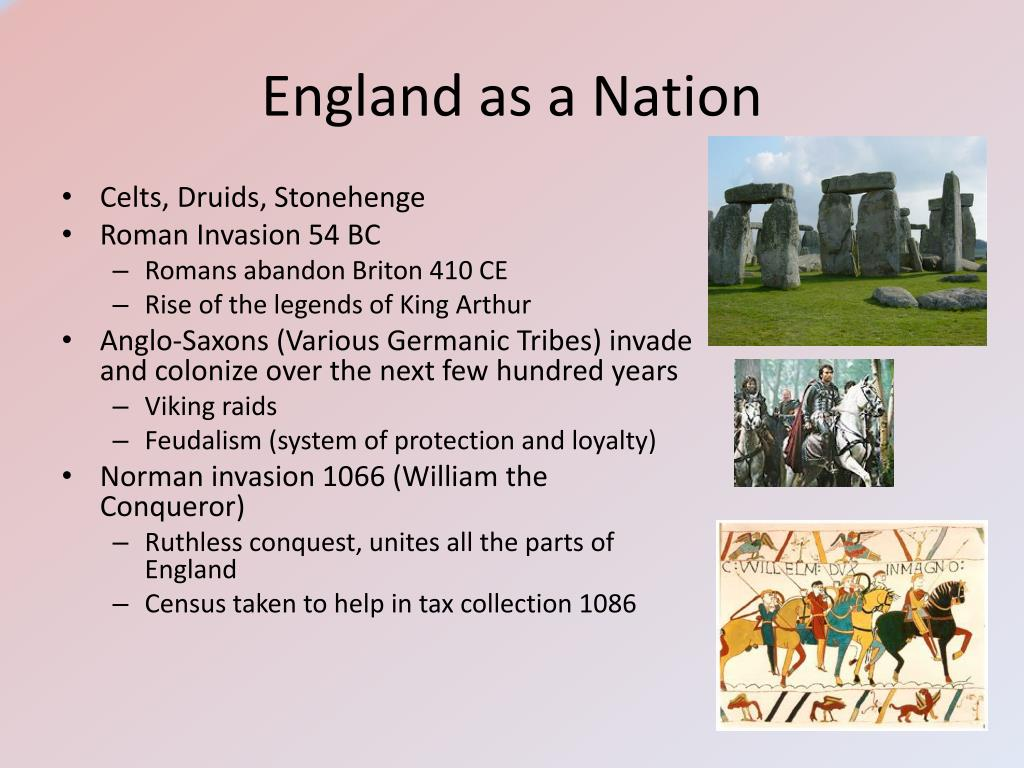 England as a Nation