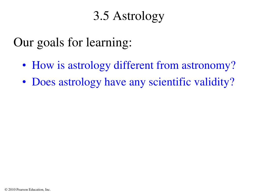 3.5 Astrology