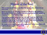mirror of the soul