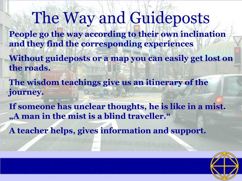 The Way and Guideposts