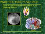 does the position of the moon affects us as astrology claims