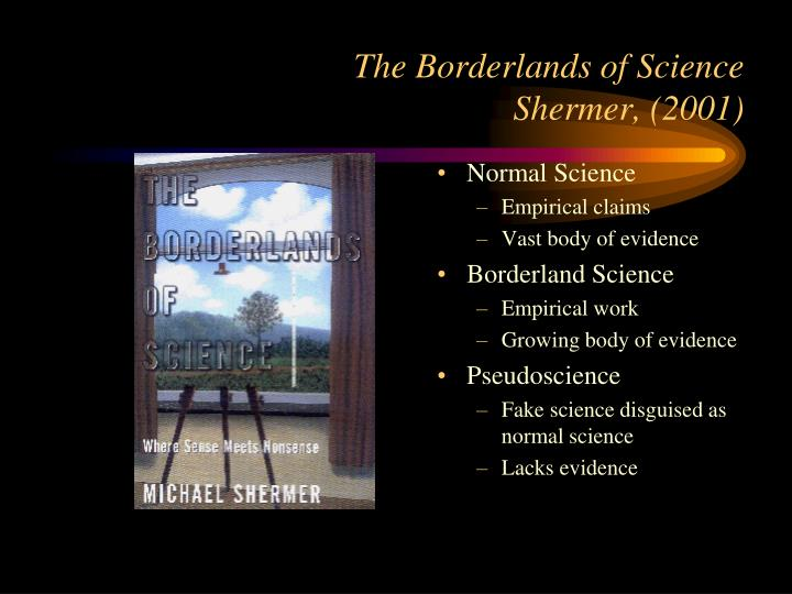 The borderlands of science shermer 2001