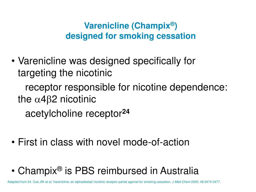 Varenicline (Champix