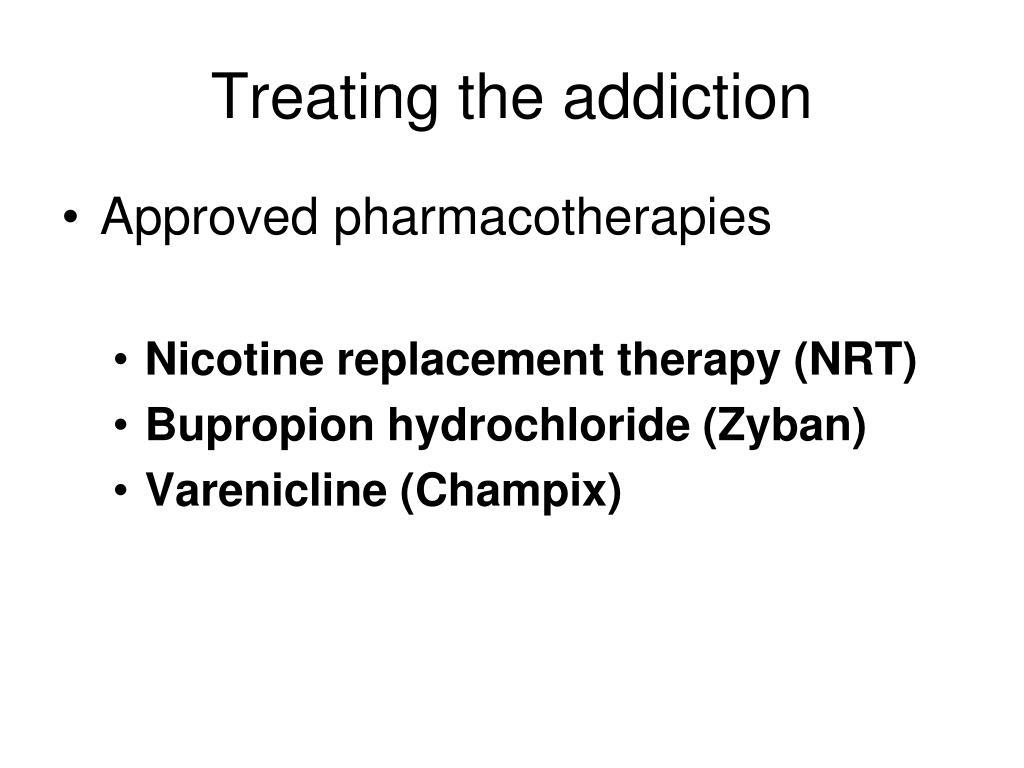 Treating the addiction