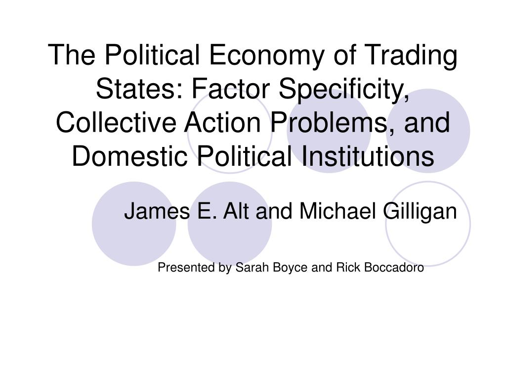 The Political Economy of Trading States: Factor Specificity, Collective Action Problems, and Domestic Political Institutions