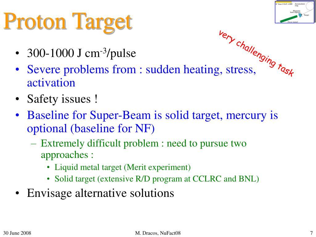 Proton Target