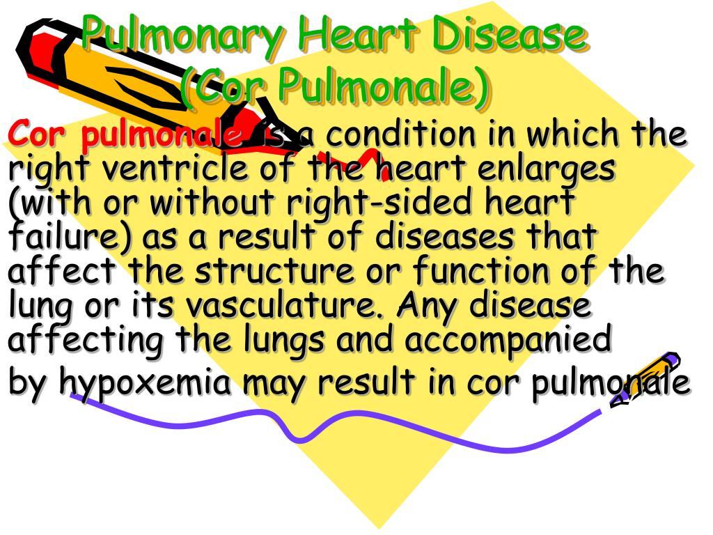 Pulmonary Heart Disease (Cor Pulmonale)