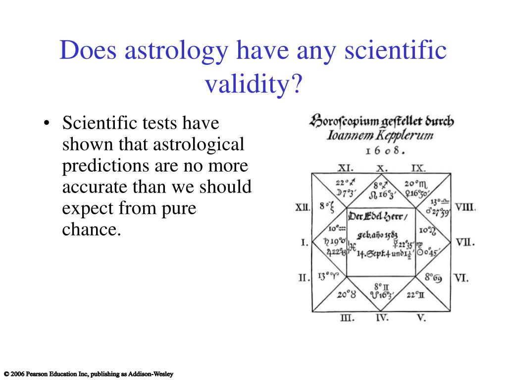Does astrology have any scientific validity?