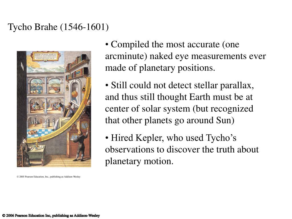 Tycho Brahe (1546-1601)