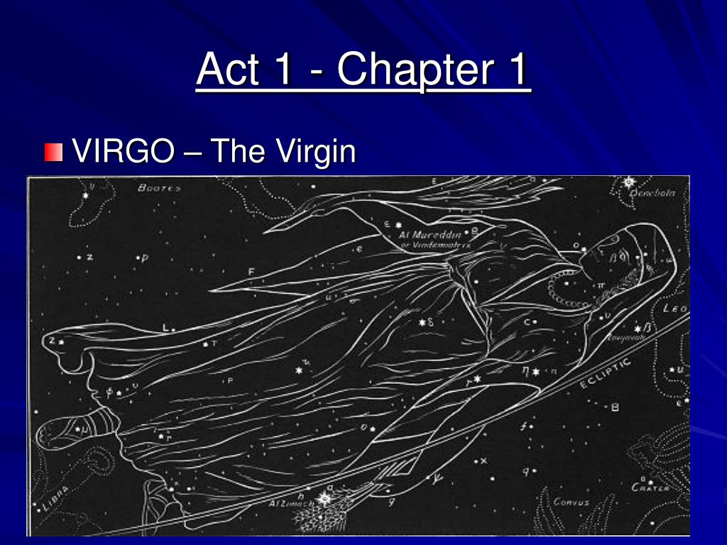 Act 1 - Chapter 1