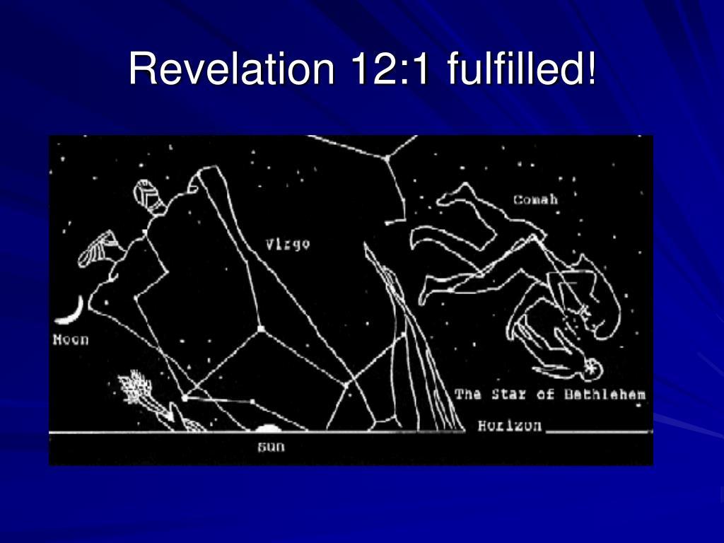 Revelation 12:1 fulfilled!