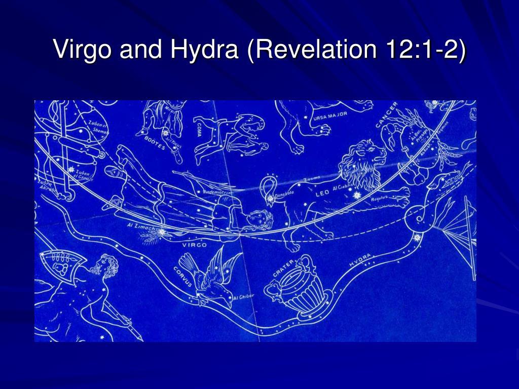 Virgo and Hydra (Revelation 12:1-2)