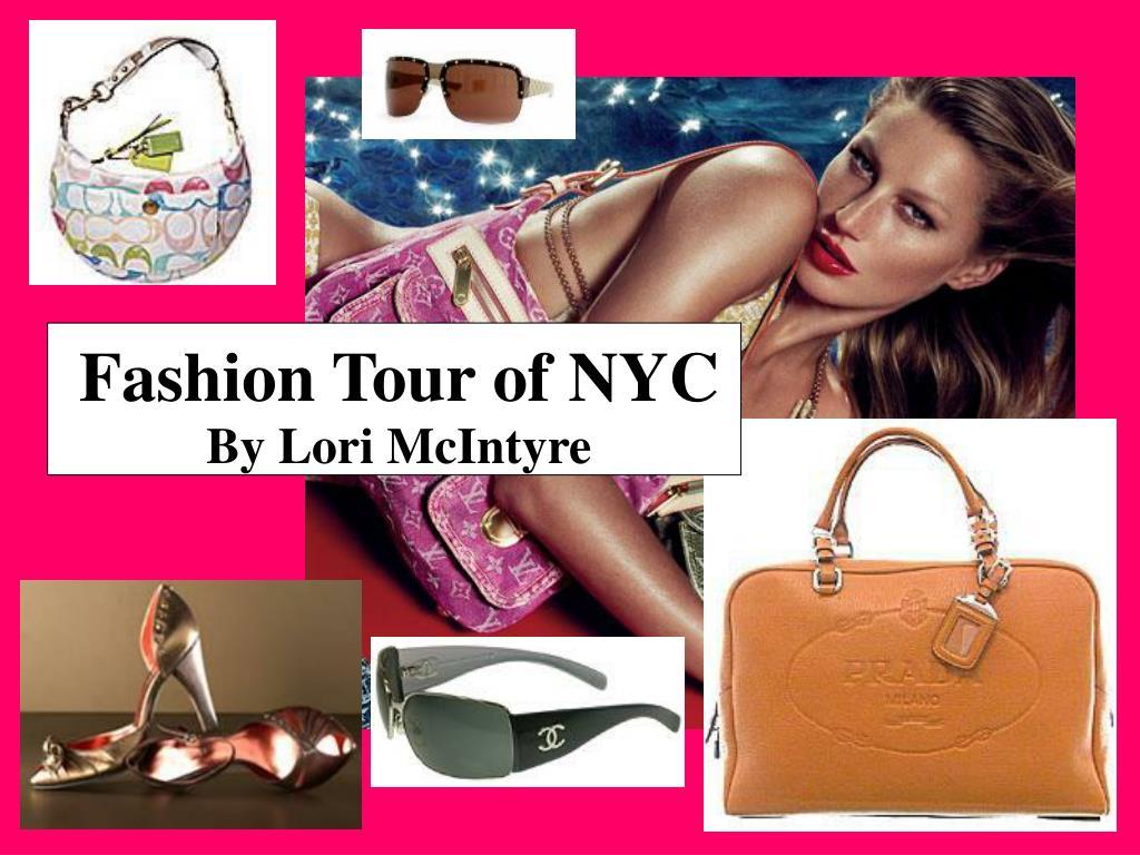 Fashion Tour of NYC