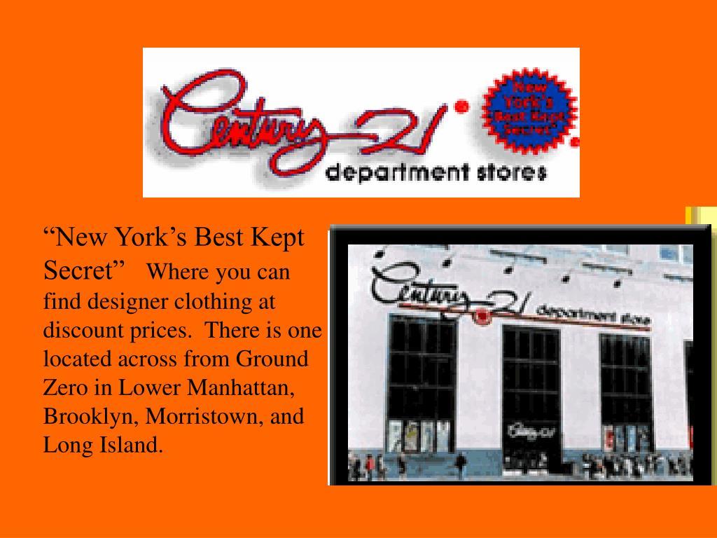 """""""New York's Best Kept Secret"""""""