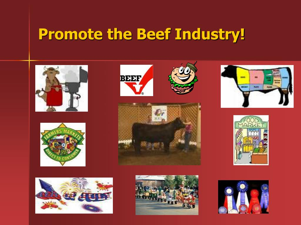 Promote the Beef Industry!