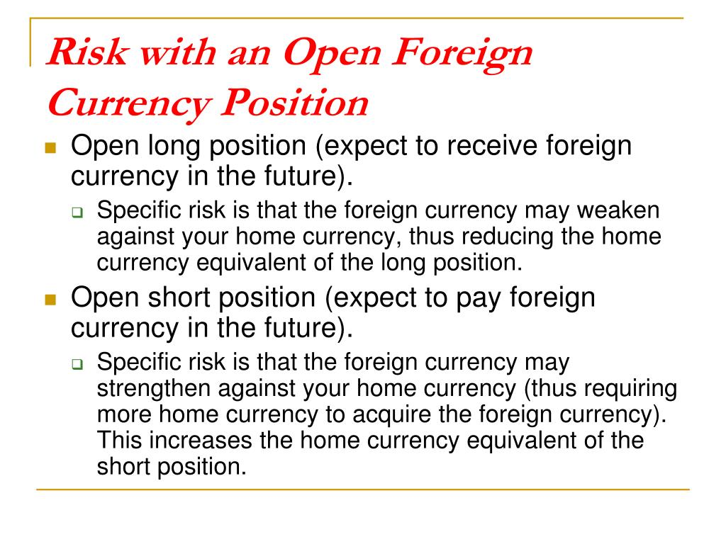 what is open position in foreign currency - prosullipi tk