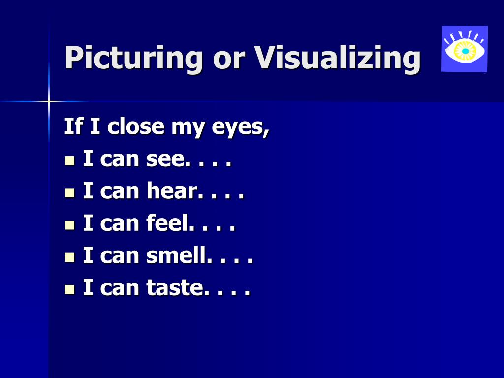 Picturing or Visualizing