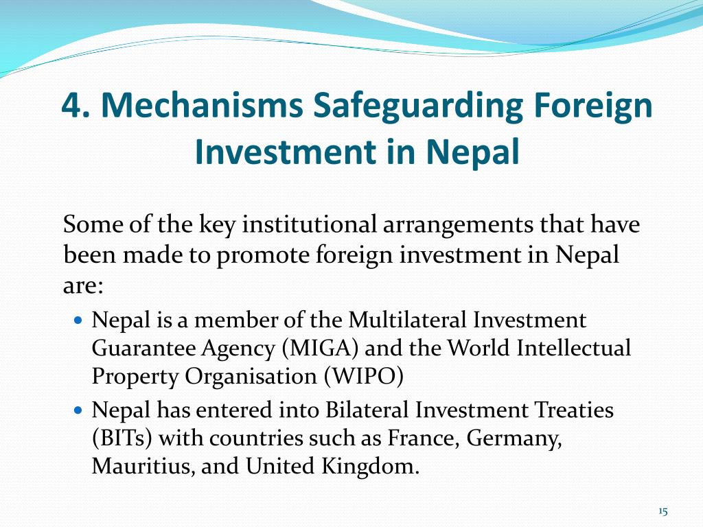 foreign investment in nepal Foreword foreign direct investment (fdi) serves as a catalyst for development in an open integrated economic system since 1980s, cross border linkages through fdi.