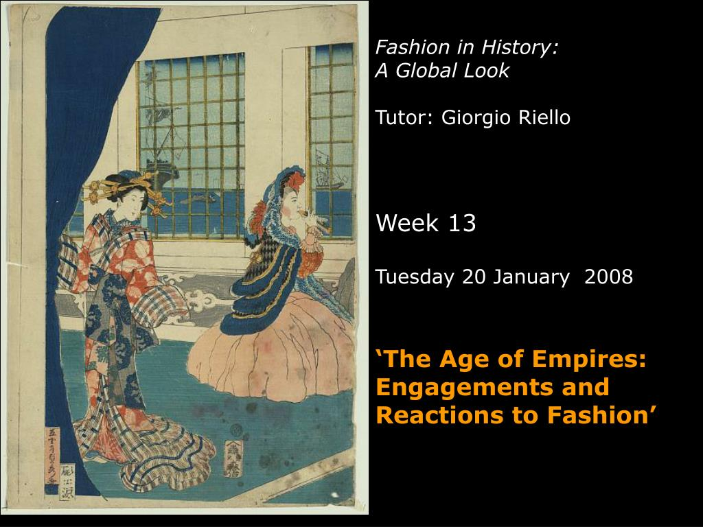 Fashion in History: