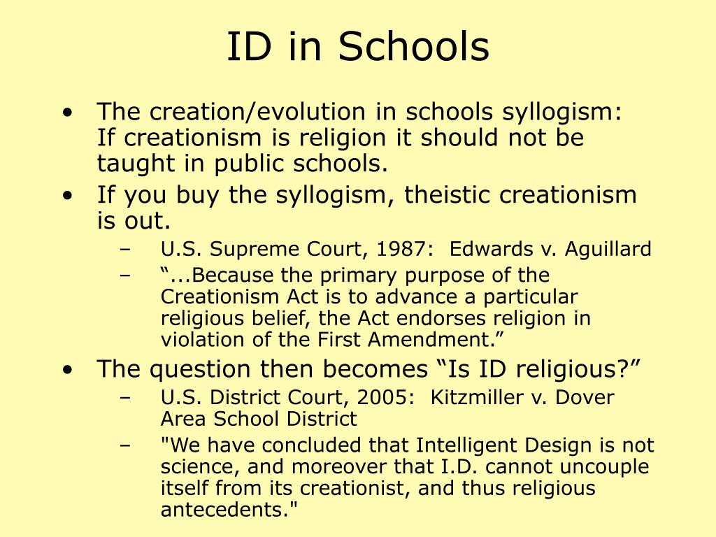 ID in Schools