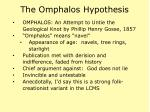the omphalos hypothesis