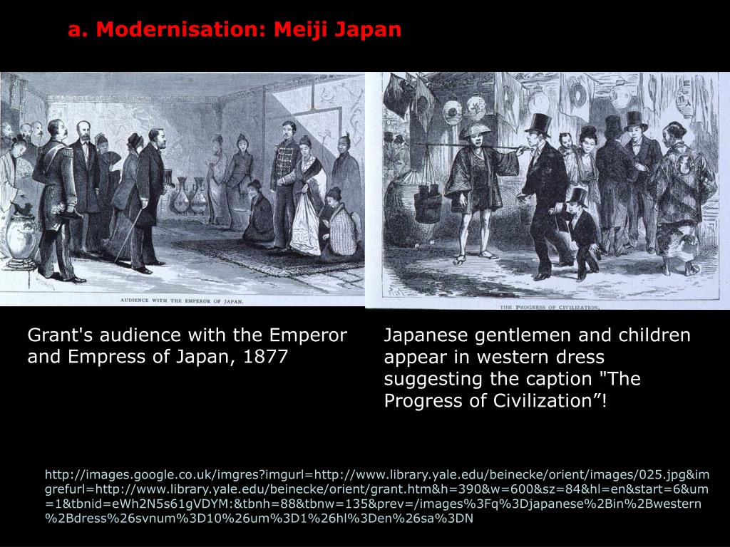 a. Modernisation: Meiji Japan