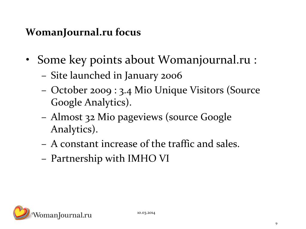 WomanJournal.ru focus