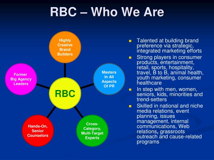 Rbc who we are