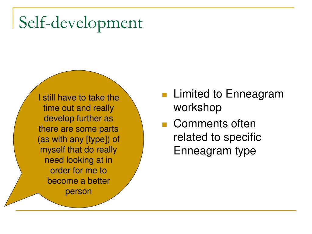 Limited to Enneagram workshop