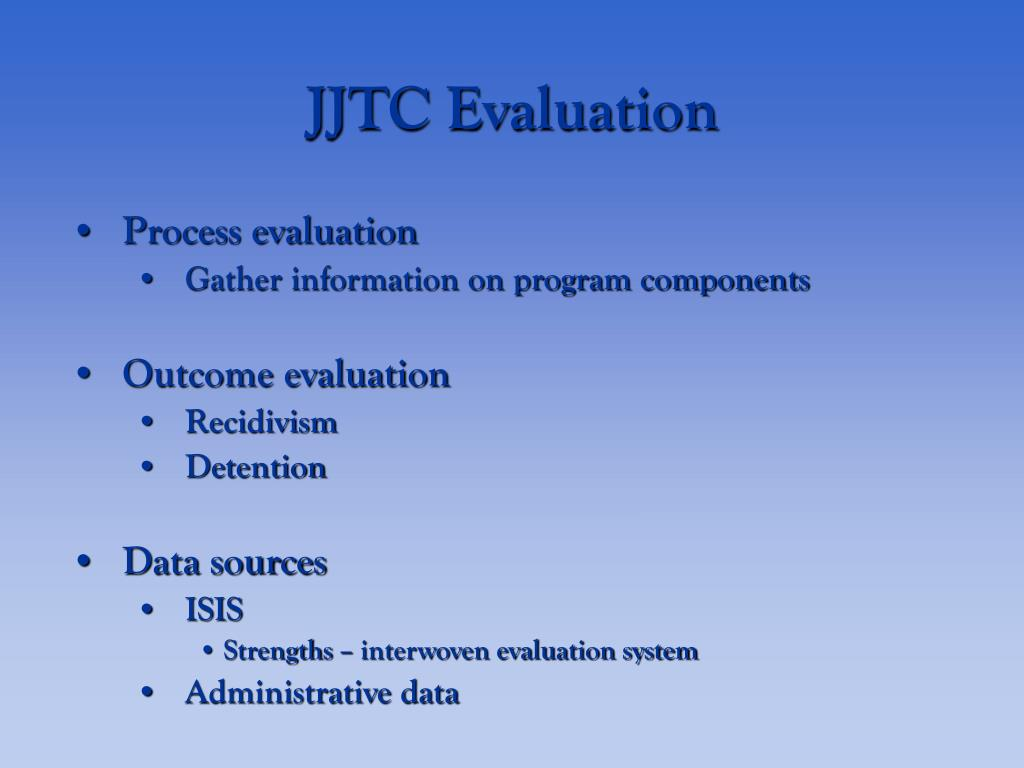 JJTC Evaluation