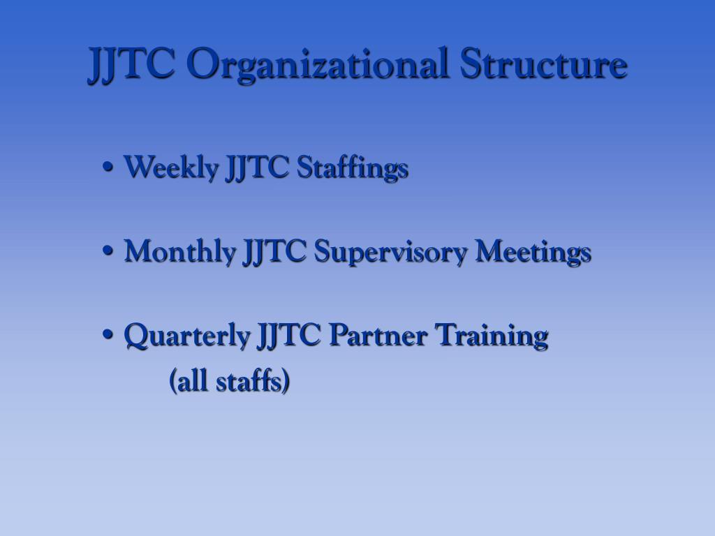JJTC Organizational Structure