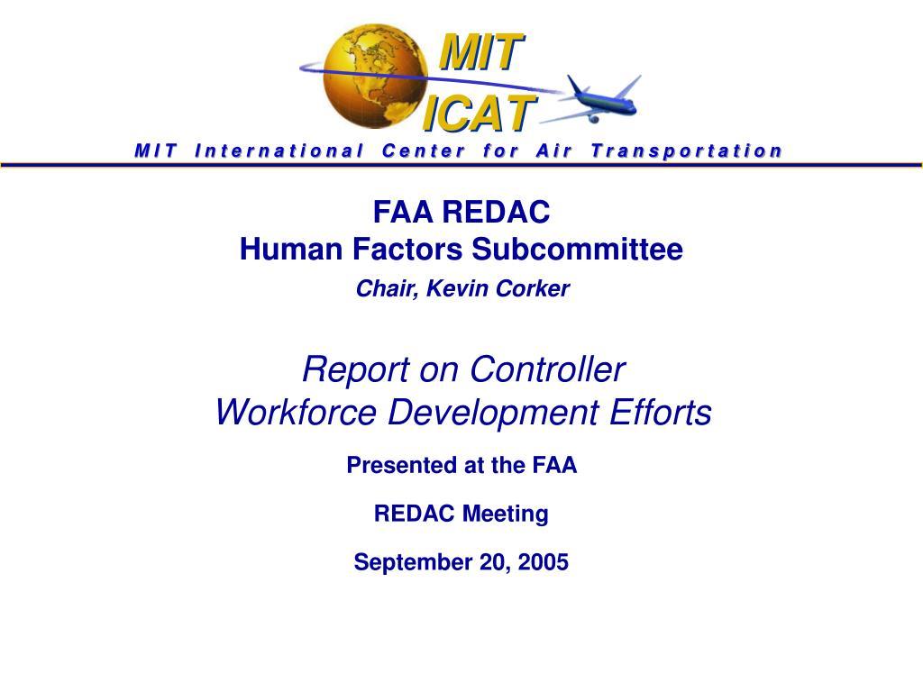 FAA REDAC