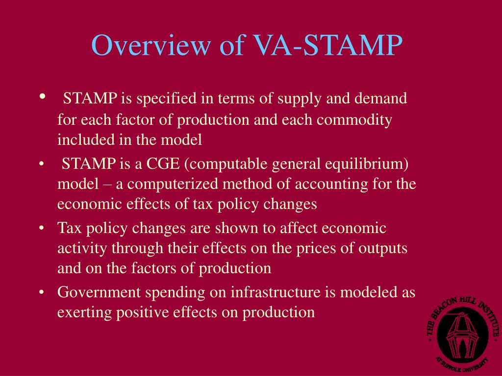 Overview of VA-STAMP
