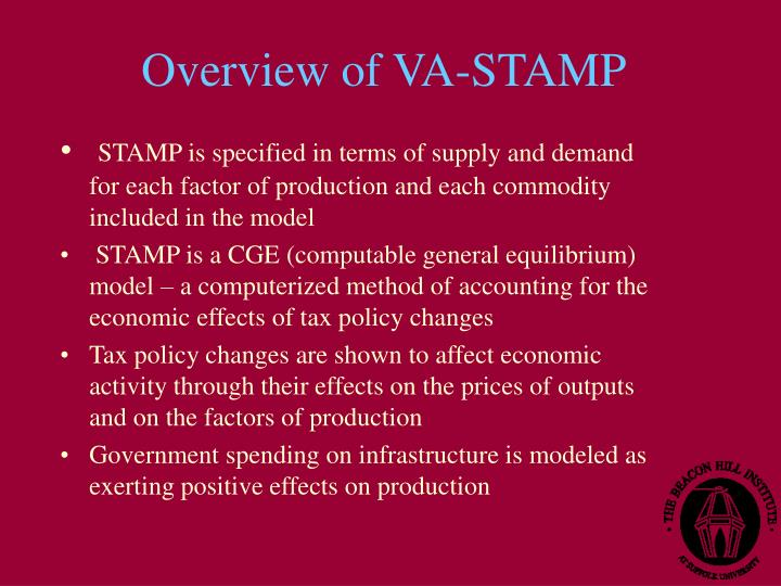 Overview of va stamp