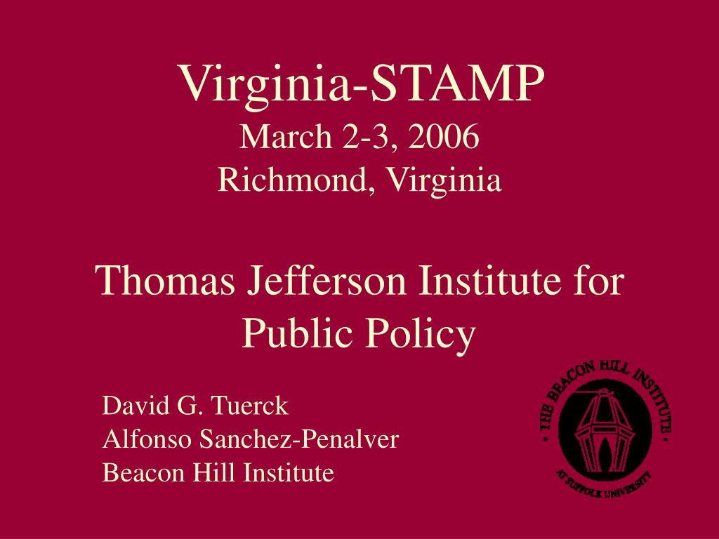 Virginia-STAMP