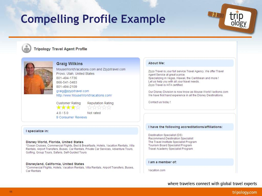 Compelling Profile Example