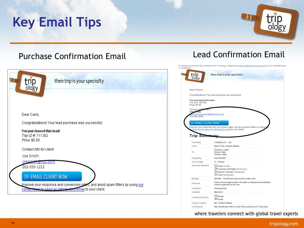 Key Email Tips