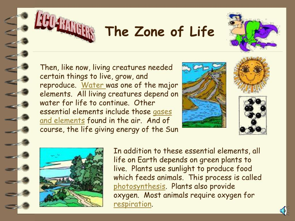 The Zone of Life