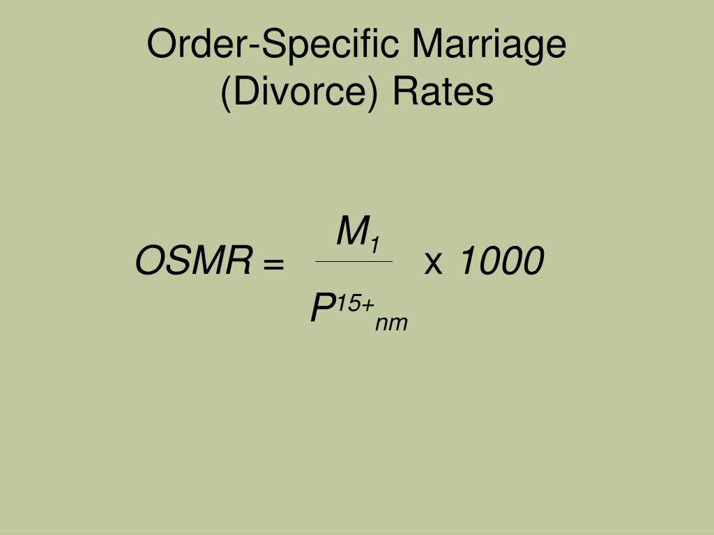 Order-Specific Marriage