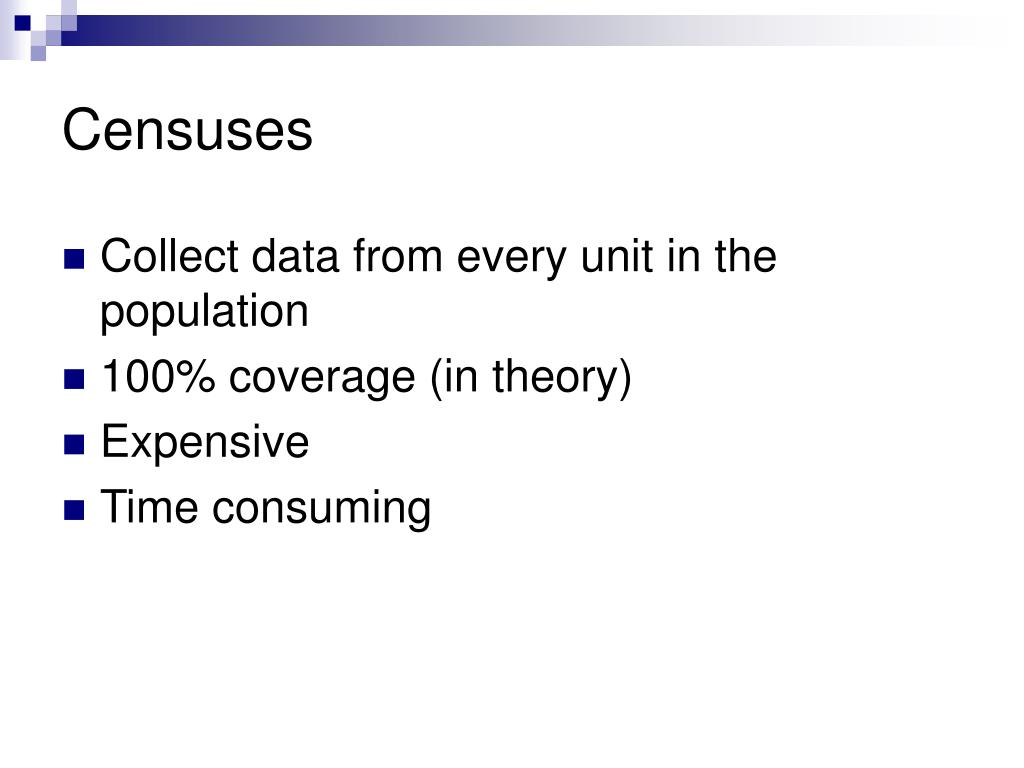 Censuses