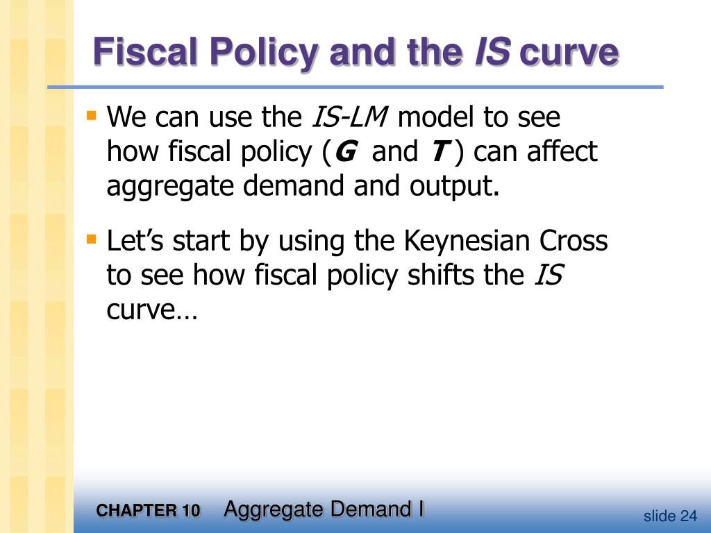 Fiscal Policy and the