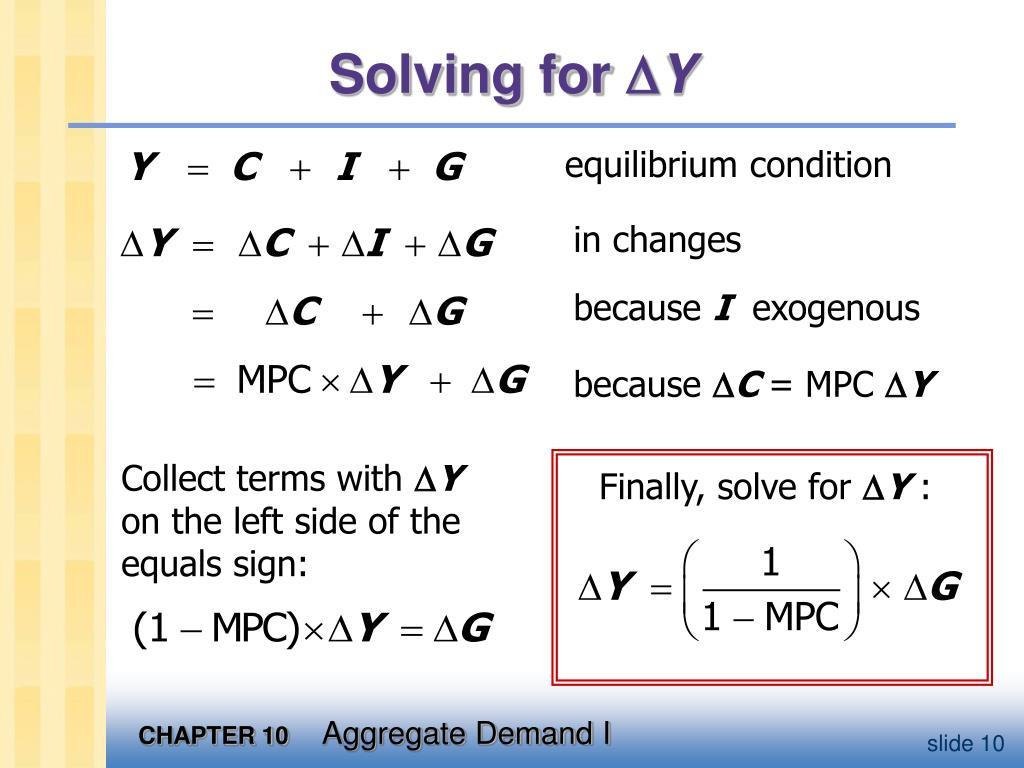 Finally, solve for