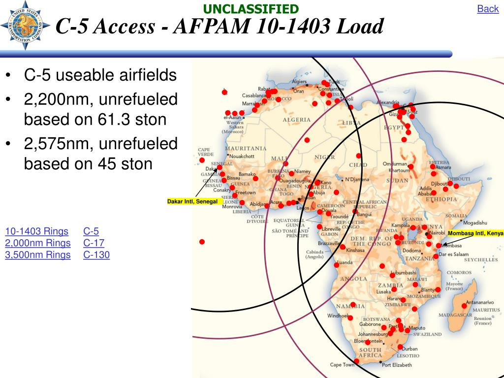 C-5 Access - AFPAM 10-1403 Load