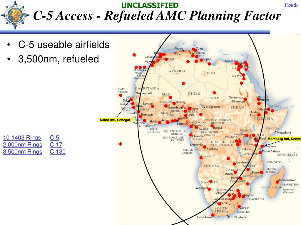 C-5 Access - Refueled AMC Planning Factor