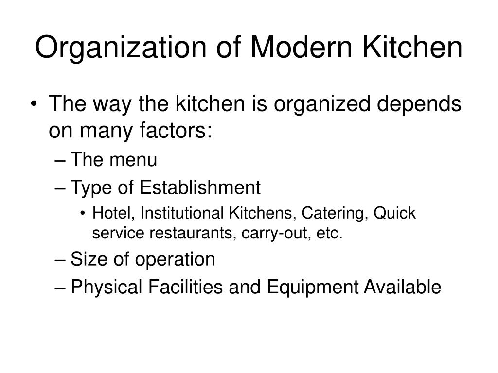 Classical Brigade System Kitchen French Brigade System Chef Submited ...