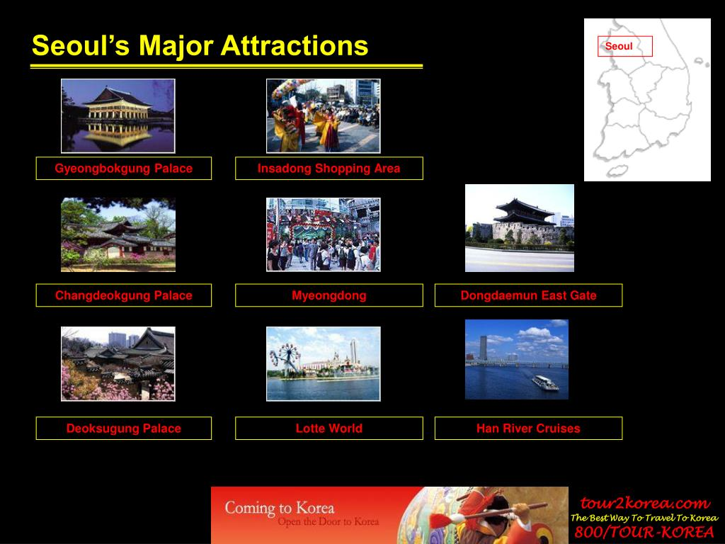Seoul's Major Attractions
