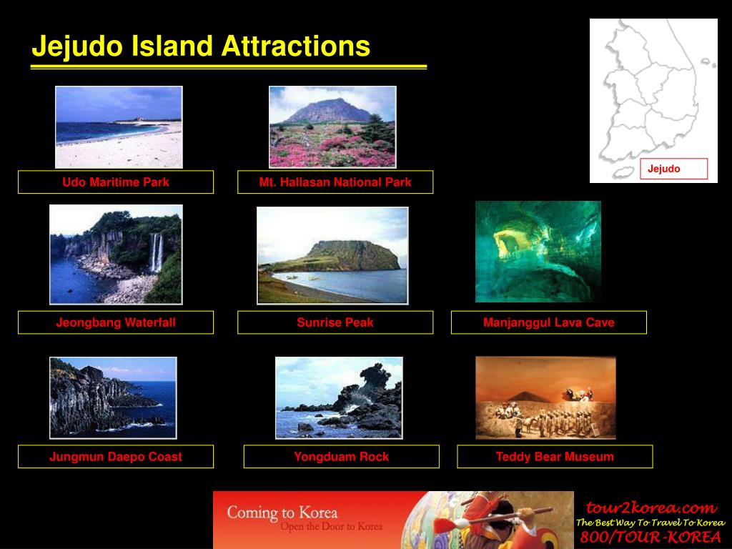 Jejudo Island Attractions